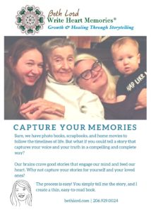Capture Your Memories Flyer